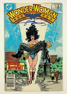 Wonder Woman #3 Signed by George Perez DC Comics 1987