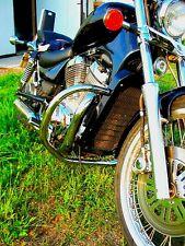 Suzuki VS800/750/600 acero inoxidable clásico Bar de choque intruso Protector del motor