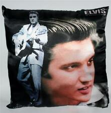 ELVIS PRESLEY Hollywood Satr King Rock and Roll 13 x 13 Satin THROW PILLOW New
