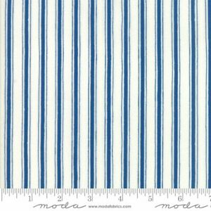 stripped grey blue fabric 1.52x2.9 meters Vintage costume fabric costume cloth