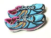 Newton Womens 10 Kismet Tennis Shoes Sneakers Athletic Pink Blue Bright Running