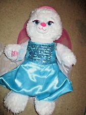Build-A-Bear Disney Frozen  Elsa Bear with dress, coat and hat