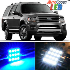 16 x Premium Blue LED Lights Interior Package Ford Expedition 1997-2017 + Tool