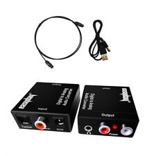 Easyday 192KHZ Digital Toslink Coaxial Optical to Analog Audio Converter Adapter