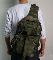 Tactical Molle Sling Chest Bag Backpack Assault Outdoor Shoulder Messenger Pack