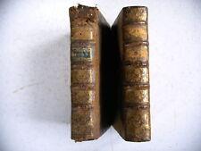 L' ORIGINE DES DIEUX DU PAGANISME M. Bergier 4 parties en 2 volumes 1767