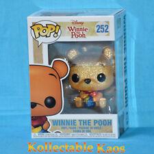 Funko Pop Winnie The Pooh Diamond Glitter # 252 Disney Vinyl Figure