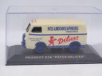 Ixo Presse 1/43 - Peugeot D3A Pates Delices
