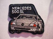 Mercedes 500 SL Aufnäher Patch 7 x 8 cm NEU (A54v)