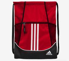adidas Alliance II Power Red Light Drawstring Gymsack Sling Backpack Bag