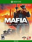 Mafia Definitive Edition (Xbox One, 2020) BRAND NEW