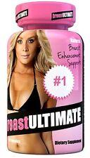 breastULTIMATE Breast Enlargement Butt Enhancement All Natural Formula 60 Pills