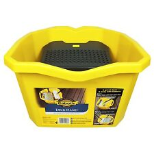 Cabot's DECK HAND BUCKET Oil Stain Durable Drainage Tray Handle Plastic 15L