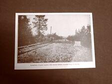 WW1 Prima guerra mondiale 1914-1918 Conegliano nel 1917 Fanteria lungo ferrovia