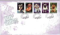 """2013 FDC Australia. Top Dogs. Pict.FDI  """"MOUNT BARKER"""""""