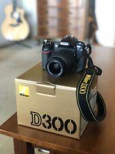 Nikon D300 12.3 MP Digital SLR Camera - Black W/AF-S 18-55mm 1:3.5-5.6 DX