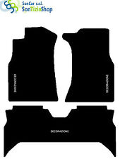 TAPIS TOYOTA 4RUNNER 1989-95, broderie : Toyota blanc + 4 Bloc Compatible