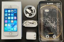 iPhone 5 Silver 16GB Factory Unlocked AT&T TMobile Sprint Metro Cricket Straigh