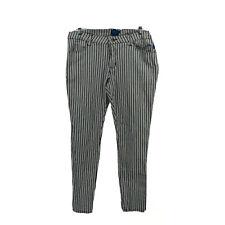 TRIPP NYC Daang Goodman Men's Striped Skinny Jeans Black/White Size 36