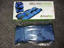 2 x 0.5 Kg BodyMax Ankle / Wrist Weights For Yoga Running Walking