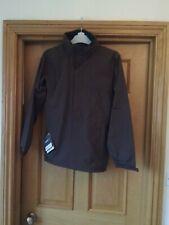 Regatta Standout Shell Jacket Waterproof Plain Zipped Winter Coat Brown Small