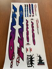1993-94 Haro Group 1 Decals Sticker Set Suit Your Old School BMX ON CLEAR