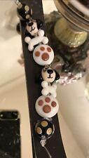 Glass Bead Set To Make A Dog Themed Bracelet