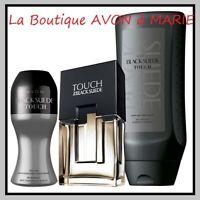 BLACK SUEDE TOUCH + Gel Douche + Déodorant à Bille AVON : Livraison RAPIDE!!
