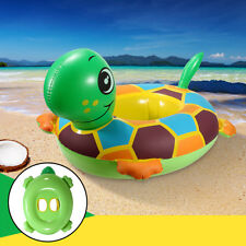 Inflatable Tortoise Baby Kids Toddler Infant Swimming Float Seat Boat Pool Ring