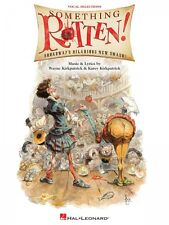 Something Rotten! Sheet Music Piano Vocal Selections Book NEW 000151276