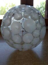 1 SUPERBE GLOBE ABAT-JOUR ANCIEN ART DÉCO  lampe  diam : 14,5 cm