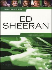 Really Easy Piano Ed Sheeran Sheet Music Book