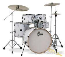 Gretsch Energy 5pc Drum Set w/ Hardware & Cymbals-White