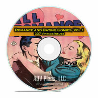 Romance, Dating Comics, Vol 1, Personal Love, Radiant Love, Golden Age DVD D37