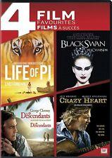 4 Films - Life Of Pi / Black Swan / The Descendants / Crazy Heart (Bilingual)