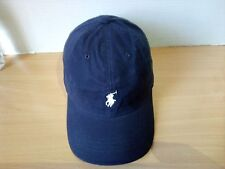 Polo Ralph Lauren Classic Baseball Cap Navy Blue With Tag But without Price Tag