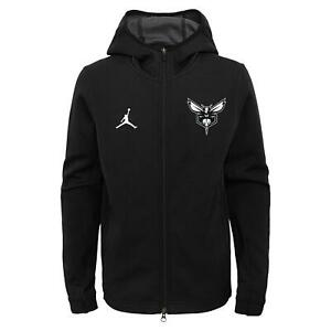Nike Air Jordan NBA Youth New Orleans Hornets Showtime Full Zip Hoodie