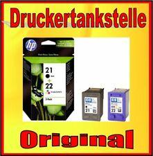 Original HP 21 HP 22 Deskjet f2187 f2224 f2280 f2290 f4140 f4172 f4180 f4190 nuevo