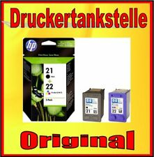 Original HP 21 HP 22 Deskjet F2187 F2224 F2280 F2290 F4140 F4172 F4180 F4190 NEU