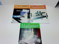 Lot of 3 Home Shop Machinist Magazines From Years 2008 2010 2011 (See Desc.)
