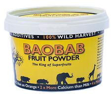 Baobab Fruit Powder 200 grams - direct from baobab fruit harvesting company