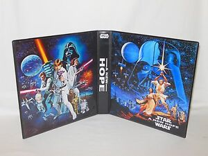 Custom Made Star Wars A New Hope Trading Card Binder Graphics Only