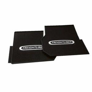 """Freightliner Coronado/Columbia Heavy Duty 1/2"""" Rubber Vinyl Front Floor Mats-Set"""
