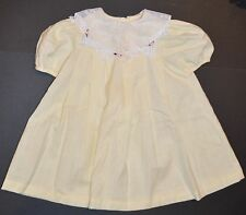 Girls Size 4 Spring Fall Yellow dress New Moves Brand