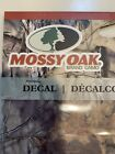 Mossy Oak Break-Up Country Logo Decal 5 1/2 x 3 1/2 Surface Mount Sticker
