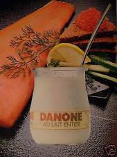 PUBLICITÉ 1981 DANONE AU LAIT ENTIER - ADVERTISING