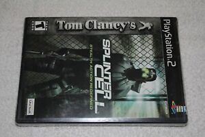 Tom Clancy's Splinter Cell (PlayStation 2, PS2) New Sealed Black Label Rare