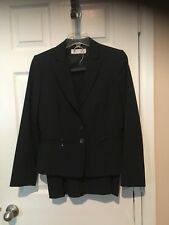 WomansTahari Blue with Pinstripes Skirt Suit - Size 6