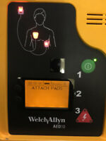 Welch Allyn AED 10 New Battery & Pads
