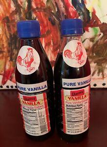 Danncy Pure Mexican Vanilla Extract - 2 x 12 Oz Bottles
